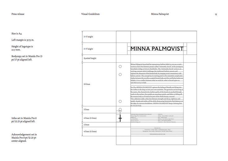 Minna Palmqvist by Bedow, 2013. Scope: #brandguidelines