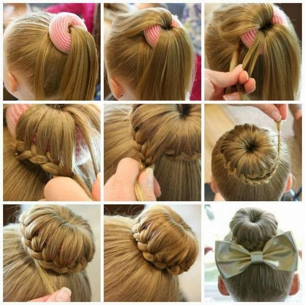 Fancy Bun Hairstyle For Formal Events ~ Entertainment News, Photos & Videos - Calgary, Edmonton, Toronto, Canada