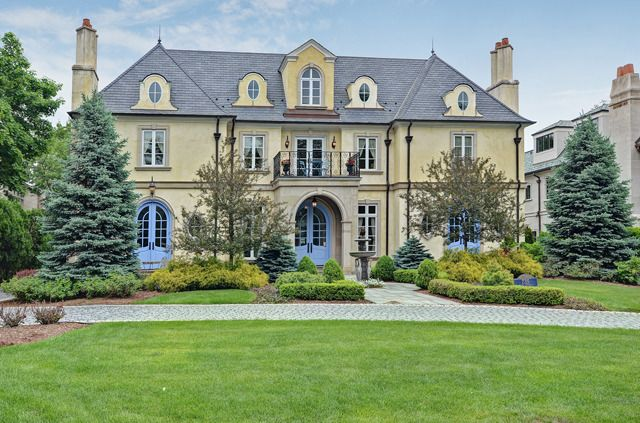 This chateau-style home is located in Hinsdale, IL.