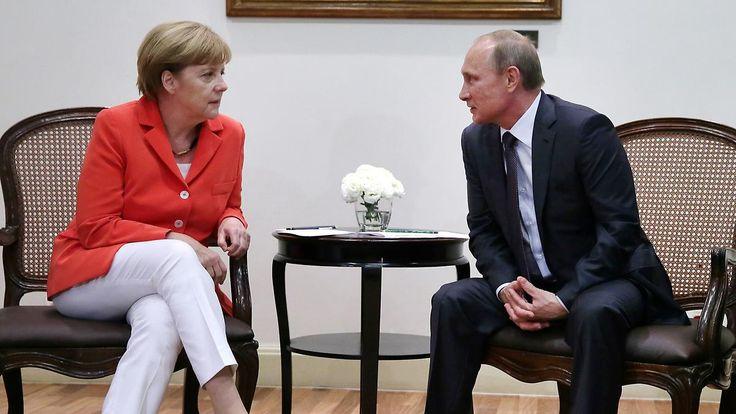Gipfel zu Krisen in Ukraine und Syrien: Merkel erwartet keine Wunder von Treffen mit Putin