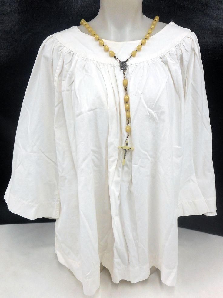 Authentic Altar Choir Boys Girls Vestment Shirt Blouse, Catholic Church Clothing, Clergy Ceremony, Cotton