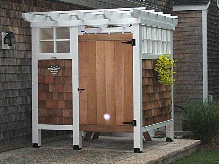 Outdoor Shower Design Ideas | KITCHENTODAY | In the Summertime ...