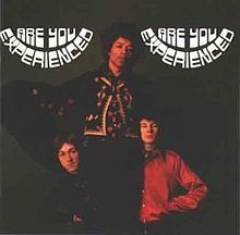 "Jimi Hendrix: ""Are You Experienced,British Edition. Released:  May 12,1967."