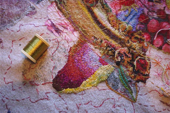 A new way to think about embroidery... by ANNIKA EKDAHL