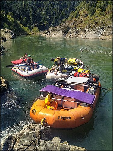 Rogue River Rafting, Oregon. This was one of the most fun things ive done!