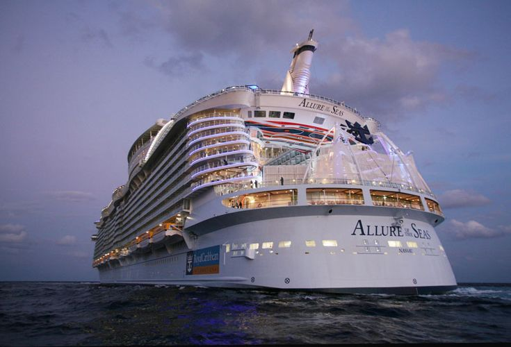 Behind the Scenes of the Worlds Largest Cruise Ship