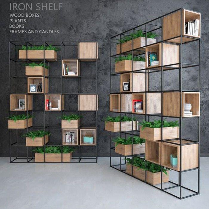 Usd 470 00 Bookcase Bookshelf Landing Simple Modern Simple Office Partition Rack Xuan Guan Cabinet Partition Cabine Office Interior Design Shelves Iron Shelf