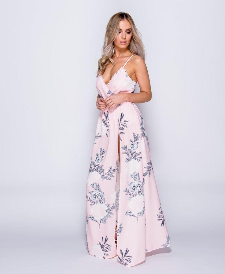 Długa letnia sukienka, idealna na wesele, chrzciny. Sukienka koktajlowa,