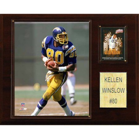 C Collectables NFL 12x15 Kellen Winslow San Diego Chargers Player Plaque