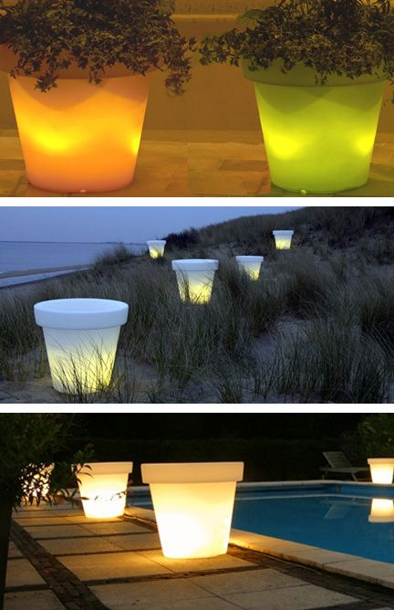 Bloom Light Pots - how fun are those!!