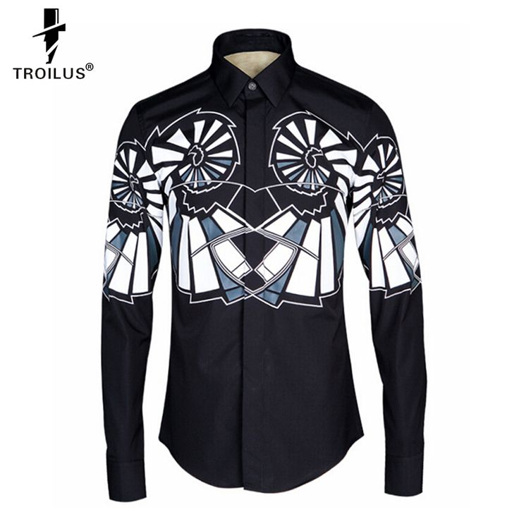 Find More Casual Shirts Information about Troilus New Brand Luxury Unique Shirt Fashion Geometric Strip Mens Dress Shirts Long Sleeve Slim Fit Casual Camisas Masculinas,High Quality shirt boys,China dress shirt bag Suppliers, Cheap dress tailor from Troilus Flagship Store on Aliexpress.com