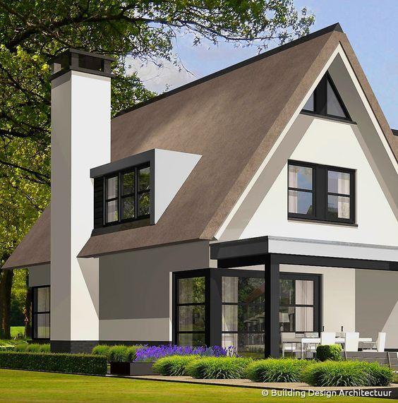 25 beste idee n over mooie huizen op pinterest for Huizen architectuur