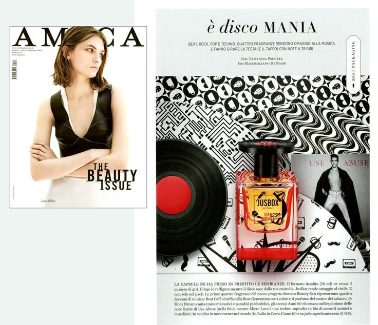 It's disco mania with Jusbox Perfumes on Amica!