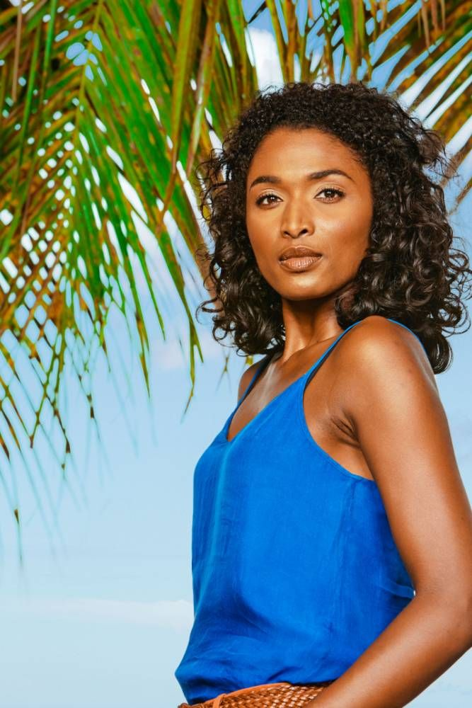 Sara Martins from BBC 1's Death in Paradise