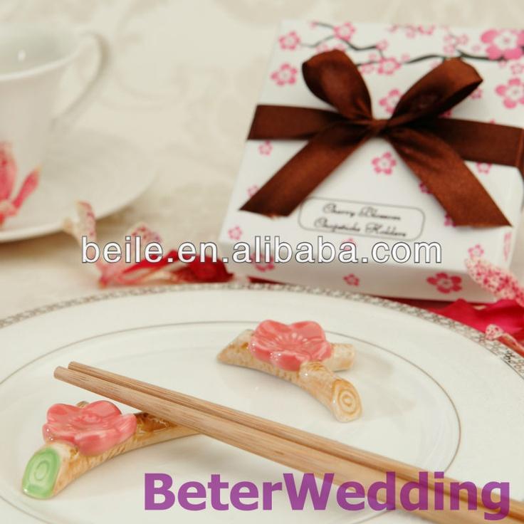 Cherry Blossom Chopsticks Holder TC004 #weddingfavors, #babyshowerfavors, #Thank you gifts #weddingdecoration #jars #weddinggifts #birthdaygift #valentinesgifts #partygifts #partyfavors #novelties #Souvenirs #BeterWedding