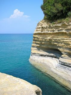 Sidari, Corfu  The famous 'Canal D'Amour beach consists of remarkable cliffs and rock formations formed by the wind. Its natural beauty makes it a favorite for any visitor.