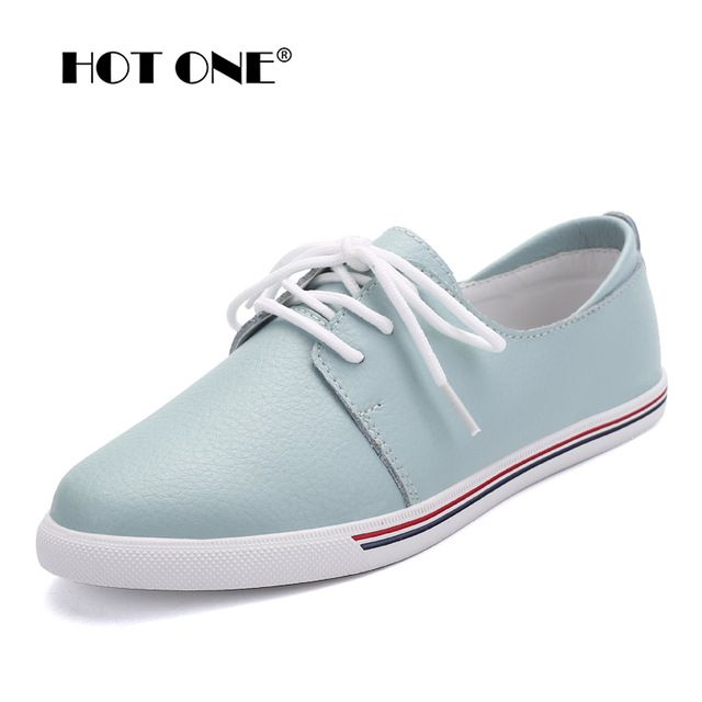Fair price Women Flats oxfords Shoes Brand Women Casual Lace Up Leather Women Shoes 2017 Fashion Female White Shoes Ladies Flat Shoes F3168 just only $23.79 with free shipping worldwide  #womenshoes Plese click on picture to see our special price for you