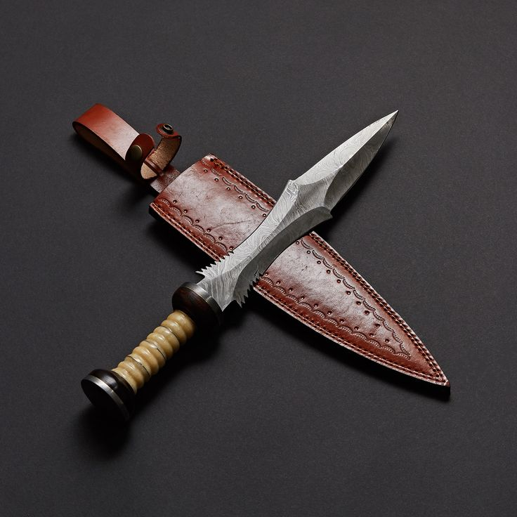 Damascus Steel Sword Knife // VK0209