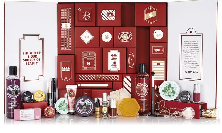 The best beauty advent calendars for 2015 - The Body Shop