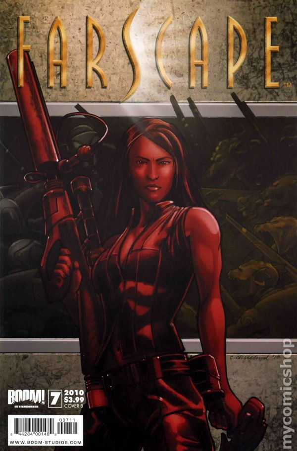 Farscape (2009 Boom Studios Ongoing) 7B Comic book covers