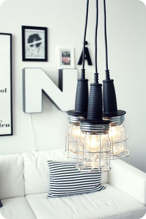—DIY Light Pendants