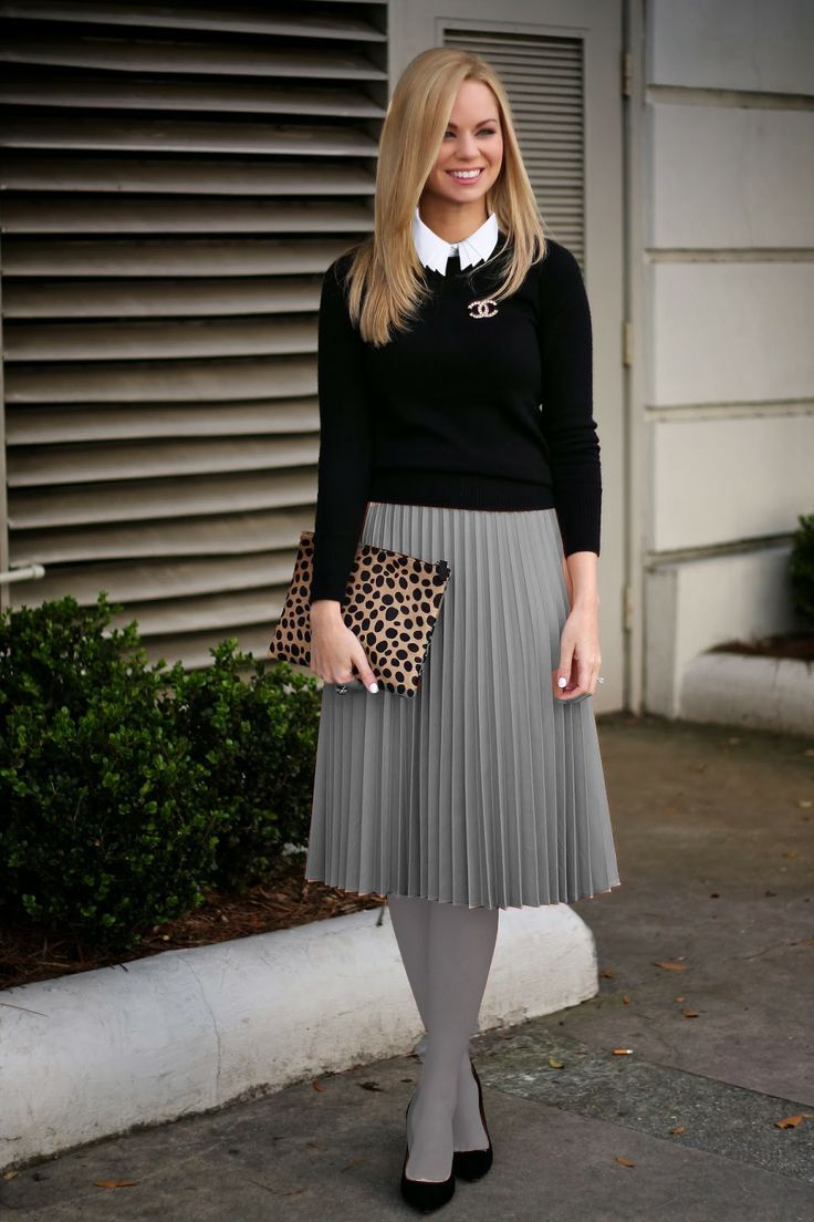 grey stockings with grey skirt women 39 s fashion that i love pinterest stockings skirts and. Black Bedroom Furniture Sets. Home Design Ideas