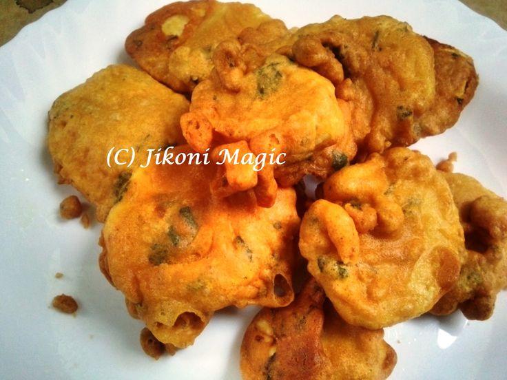 Bhajia Recipe - How to Make Homemade Bhajias - Jikoni Magic