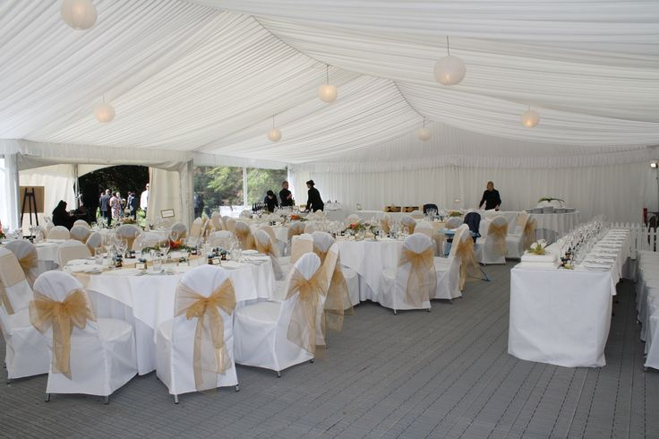 Marquee with Grey Flooring
