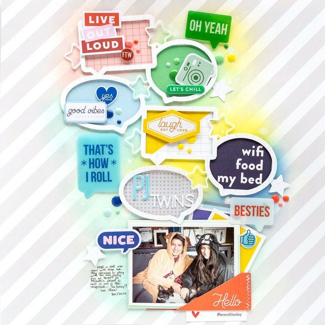Scrapbook Layouts With Noteworthy And Super Cool In 2020 Project Life Scrapbook Small Scrapbook Scrapbook