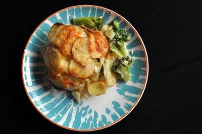 Domácí gastronomie: Gratinované brambory s brokolicí