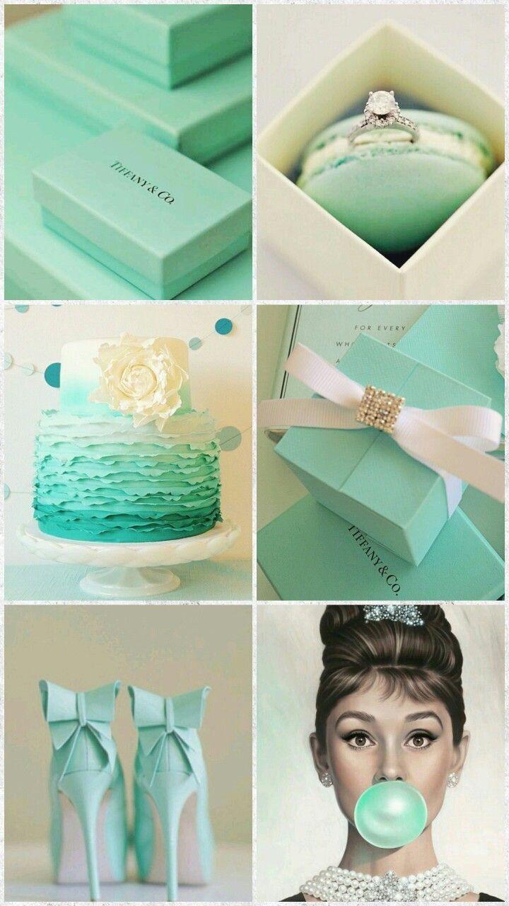 Love the Tiffany blue heels!