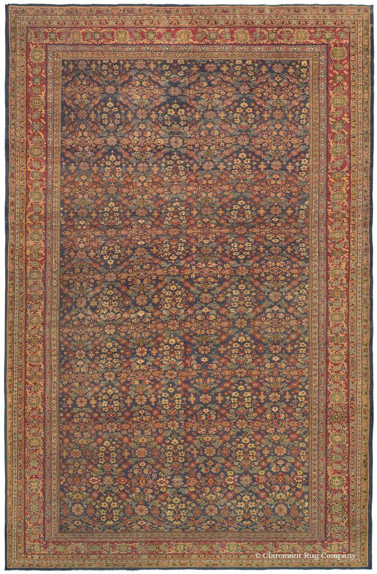 A Guide To Antique Persian Sultanabad Rugs From The Second Golden Age Of Weaving Carpets Claremont Rug Company