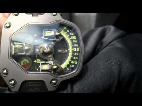 Haute Time Presents: Martin Frei Of Urwerk Watches At Basel World - YouTube