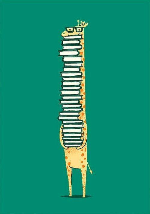 Reading giraffe BG