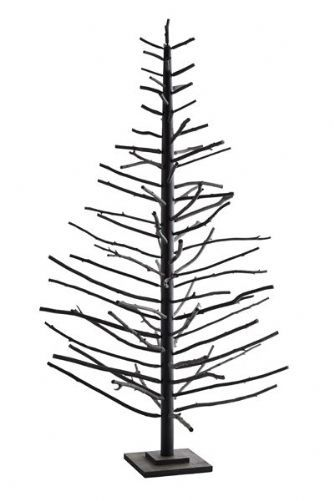 Black Scandi Christmas Tree WAS 195 NOW 100