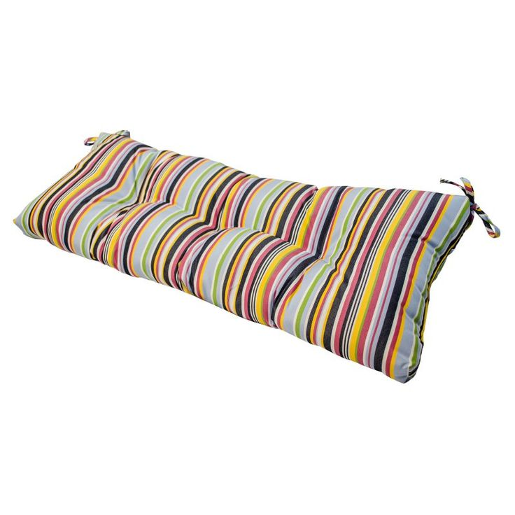 Greendale Home Fashions 46 x 17 in. Sunbrella Outdoor Bench and Porch Swing Cushion