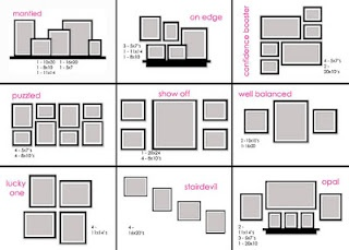 How to picture frame a feature wall