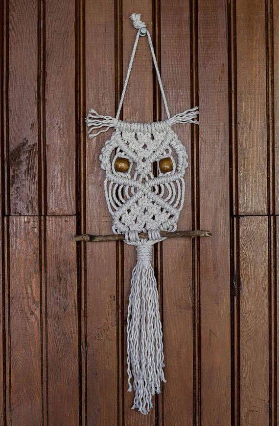 Best 25 Macrame Owl Ideas On Pinterest Diy Owl Necklace