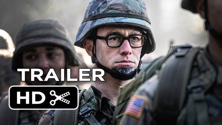 Pin for Later: Get Excited For 2016 Movies With Over 50 Trailers Snowden When it opens: May 13