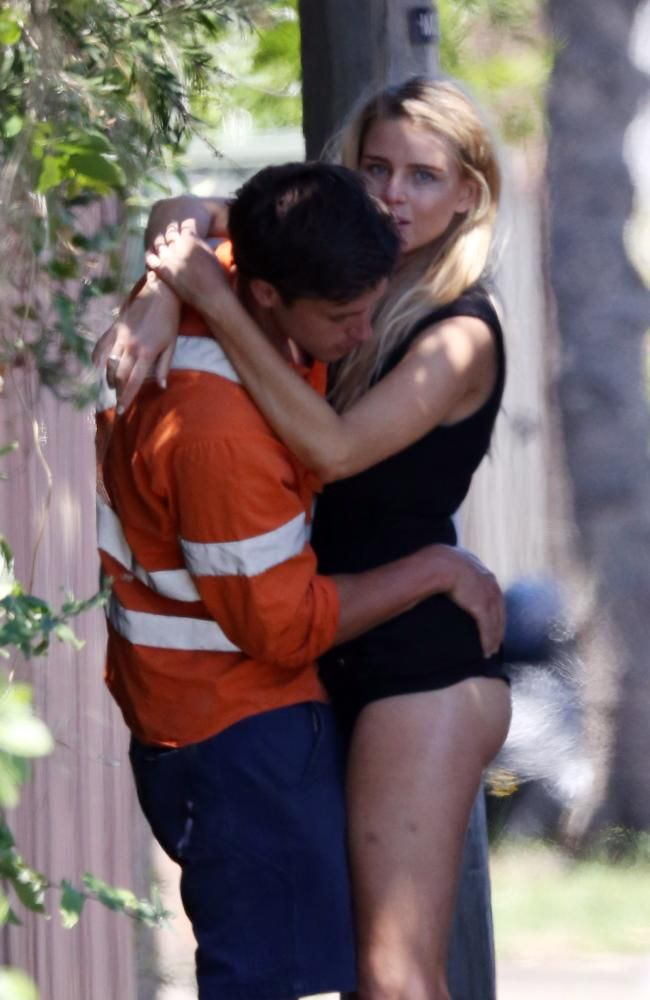 Tegan Martin's hot romance with tradie-turned-model Angus Hood bottoms out #MissUniverse #breakup
