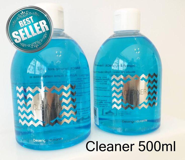 O nosso novo Cleaner 500ml! Já é um sucesso ! Brevemente disponível com o doseador! http://biucosmetics.com/cleaner-1766.html