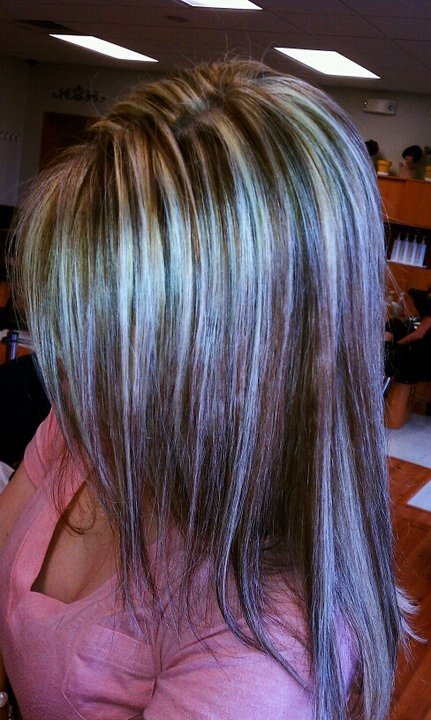 love the various colors here lots of blonde highlights