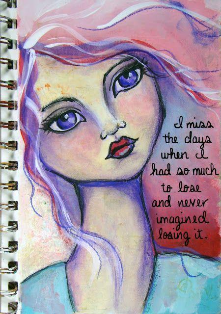 Jane Davenport, Drawing and Painting Beautiful Faces, art journaling, art books,
