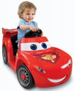 Lightning McQueen Power Wheels Ride On Car