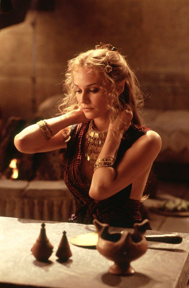 Helen of Troy - the daughter of Zeus and Leda, Helen was the Queen of Sparta and considered the most beautiful woman who ever lived. Her abduction by Paris led to the Trojan War. She is portrayed here by Diane Kruger.