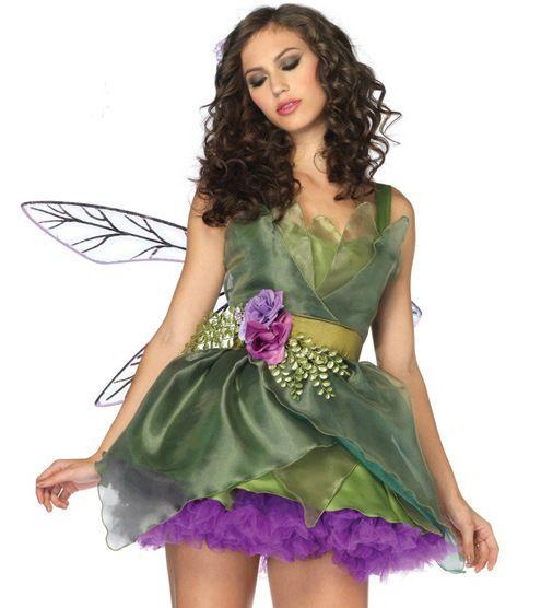 Female Forest Elves   8638 forest green Christmas elf costume Halloween costume dress ...