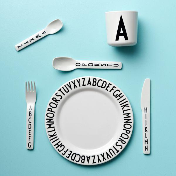 Arne Jacobsen kids melamine cutlery - Design Letters