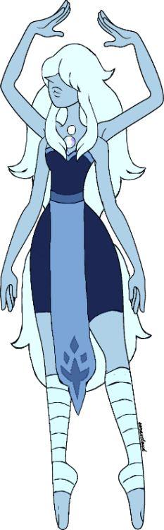 blue opal = amethyst + blue pearl