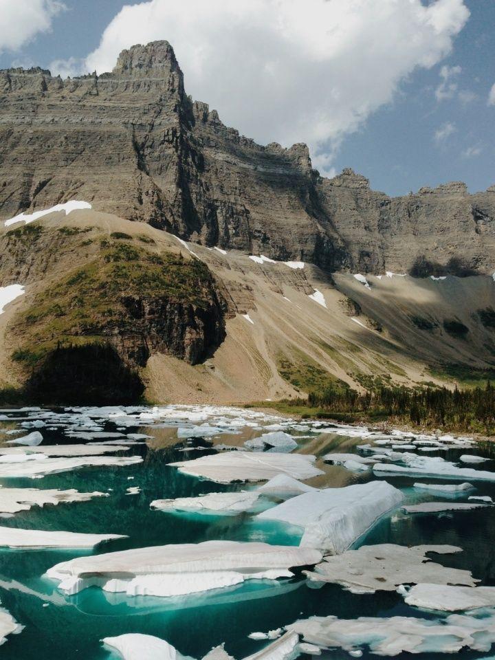 Iceberg Lake. Glacier National Park, Montana