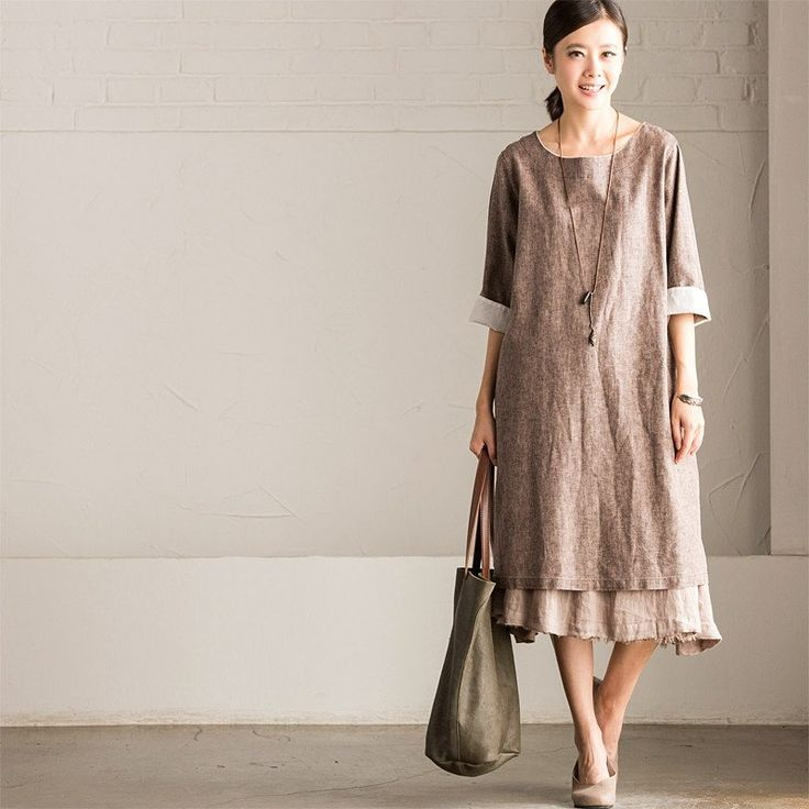 148 Best Linen Images On Pinterest: 78 Best Images About Cotton Linen Dress-[Fantasylinen] On